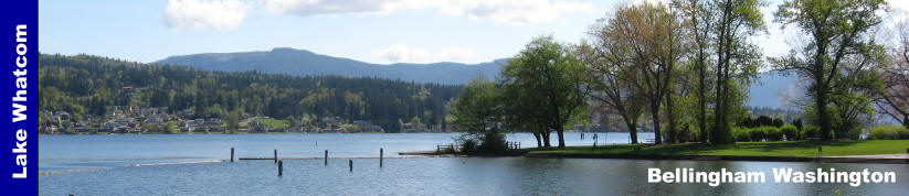 Lake Whatcom Park Bellingham Washington