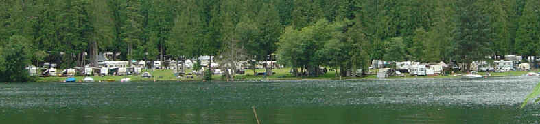 Camping in Bellingham Wa on the shores of beautiful Lake Whatcom