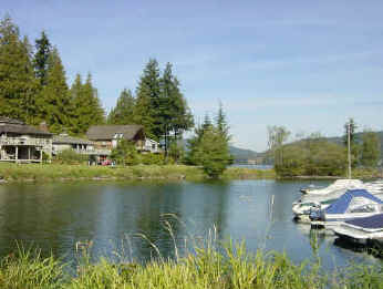 Sudden Valley WA Marina On Lake Whatcom